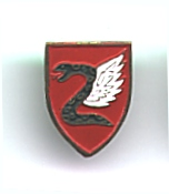 Israel Army Paratroopers Unit Tag