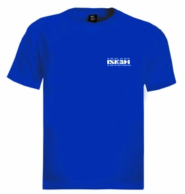 Israel Flag in Letters Crest T-Shirt