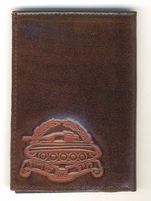 IDF Armored Corps Leather Wallet