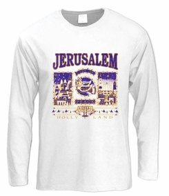Jerusalem, City of Peace Long Sleeve T-Shirt