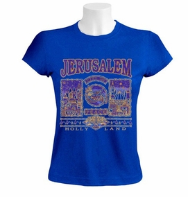 Jerusalem, City of Peace Women T-Shirt