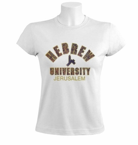 JERUSALEM UNIVERSITY Women T-Shirt
