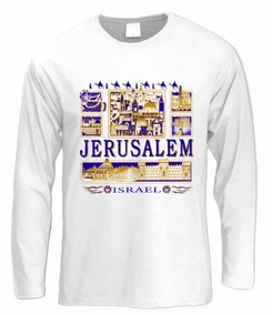 Jerusalem View Long Sleeve T-Shirt