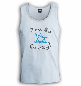 Jew So Crazy Singlet