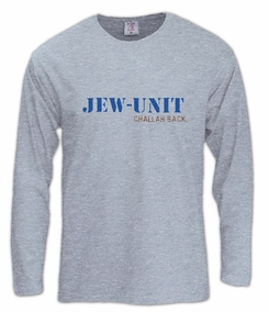 Jew Unit Long Sleeve T-Shirt