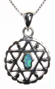 Judaism Symbols Necklace
