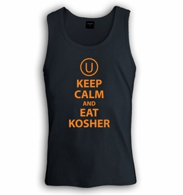 Keep Calm and Eat Kosher Singlet