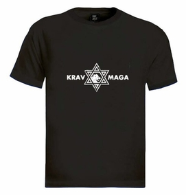 Krav Maga Casual Star of David T-Shirt