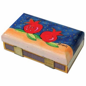 Large Pomegranates Match Box – Kichen Size CAT# MBM - 6