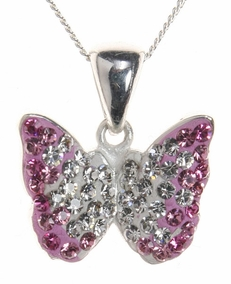 Love Butterfly Necklace