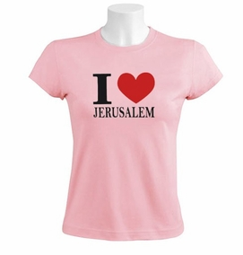 Love Jerusalem T-shirt
