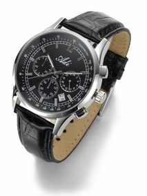Luxury stainless steel chronograph - 2995a