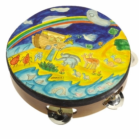 Noah's Ark Tambourine CAT# TM- 2
