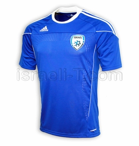 Official Adidas Israel Soccer Jersey
