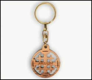 olive wood key chains KCH-004