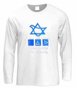 Peace and Hope Long Sleeve T-Shirt