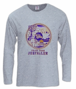 peace from jerusalem Long Sleeve T-Shirt