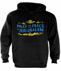 Pray for the Peace of Jerusalem Hoodie