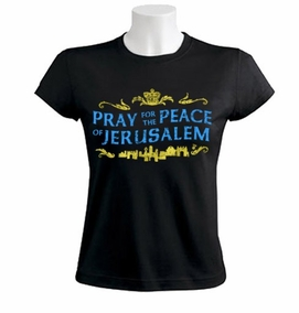 Pray for the Peace of Jerusalem Women T-Shirt