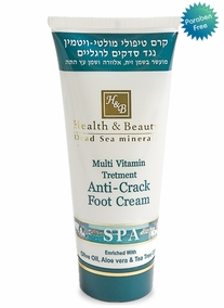 Professional Multi-Vitamin Foot Cream against Chapping