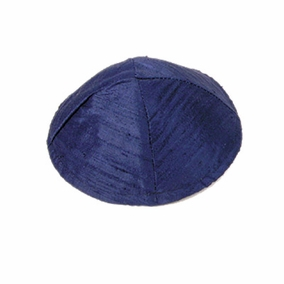 Raw Silk Kippah ( YAR- 1) CAT# YAR-1