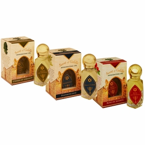Scent of Galilee Anointing Oil Set - 3 x 10ml Bottles