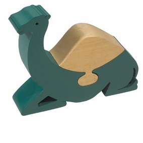 Sitting Camel Small Freestanding Wooden Puzzle CAT# PZS- 4