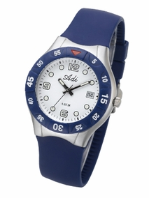 Sporty stainless steel diving watch - 418