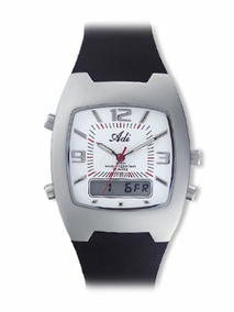 Sporty stainless steel gent's watch - 719