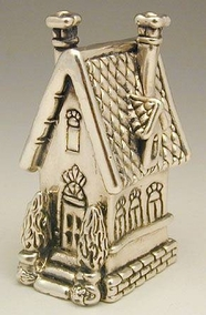 Sterling Silver Big House
