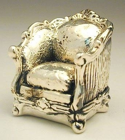 Sterling Silver Couch