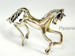 Sterling Silver Fantasy Horse Model