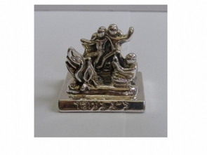 Sterling Silver Flame with dancers
