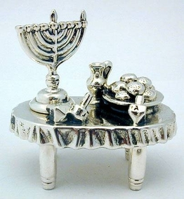 Sterling Silver Hanukah Table