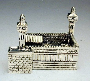 Sterling Silver Machpela Cave Miniature