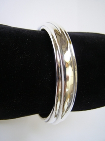 Sterling Silver Open Wave