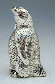 Sterling Silver Penguin Miniature