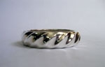Sterling Silver Regular Wave Bracelet