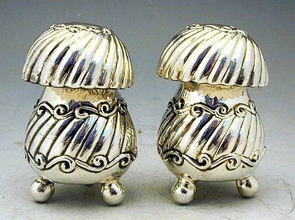 Sterling Silver Salt & Pepper Shakers Set
