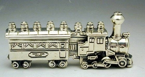 Sterling Silver Sterling Silver Train Hanukkah