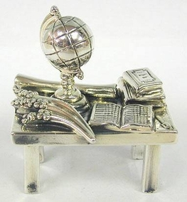 Sterling Silver Teacher Table