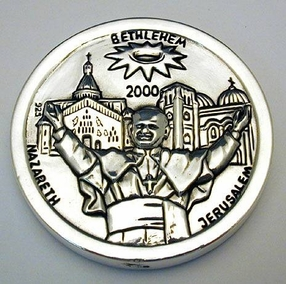 Sterling Silver The Pope Medal