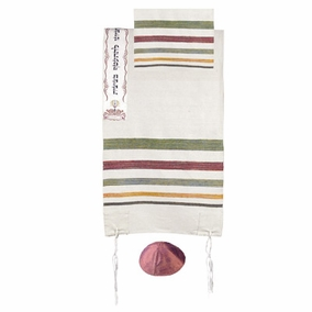 "Tallit Judaism CAT# TSW- 4, 19"" X 71"""