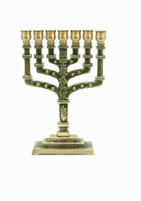 12 Tribes Menorah