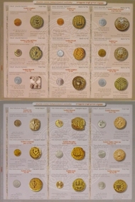 The Coins of the Bible Land placemat