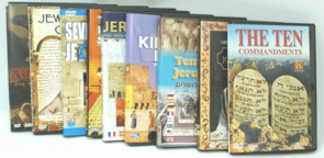 The Comprehensive Jewish Family Kit- 9 DVDs of Judaism
