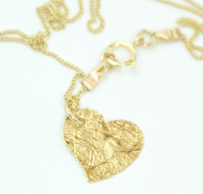The Golden Heart Necklace
