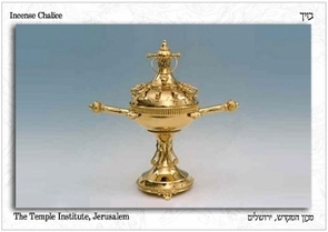 The Holy Temple Postcard - The Incense Chalice