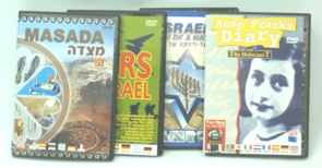 The Jewish Myths 4 DVDs Gift Pack From Masada to Zion