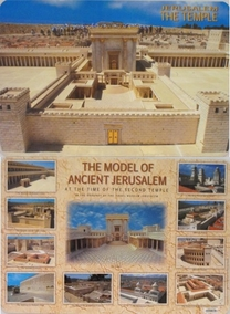 The Model of Ancient Jerusalem Placard